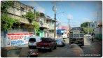 Fahrt zur Polizeikontrolle Panama City