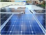 Solaranlage Unimog Dach